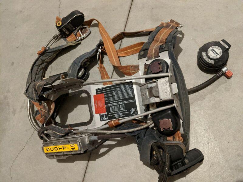 SCOTT SCBA  4.5 air pack backpack. Firefighter