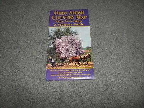 MAP 2001 OHIO AMISH COUNTRY MAP