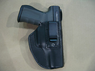 Fmk Bill Rights 9C1 9Mm Iwb Leather In Waistband Conceal Carry Holster Black Rh
