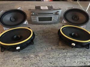 2007-2011 Camry factory stereo and speakers.
