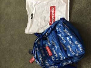 """Blue """"Reflective Repeat"""" 3M Backpack"""