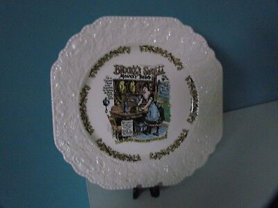 Lord Nelson Pottery Decorative Plate Advertising Brookes Soap