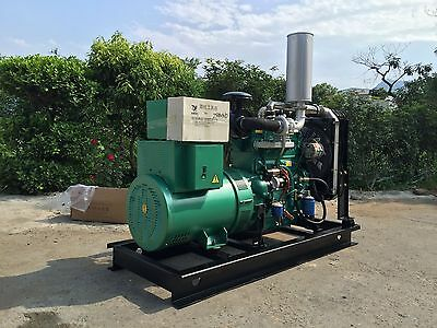 Brand New 50000w 50kw 1 Phases 60hz Diesel Powered Generator Shipped By Sea Epa