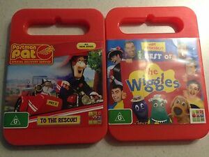 Kids dvds best of wiggles and post man pat Busselton Area Preview