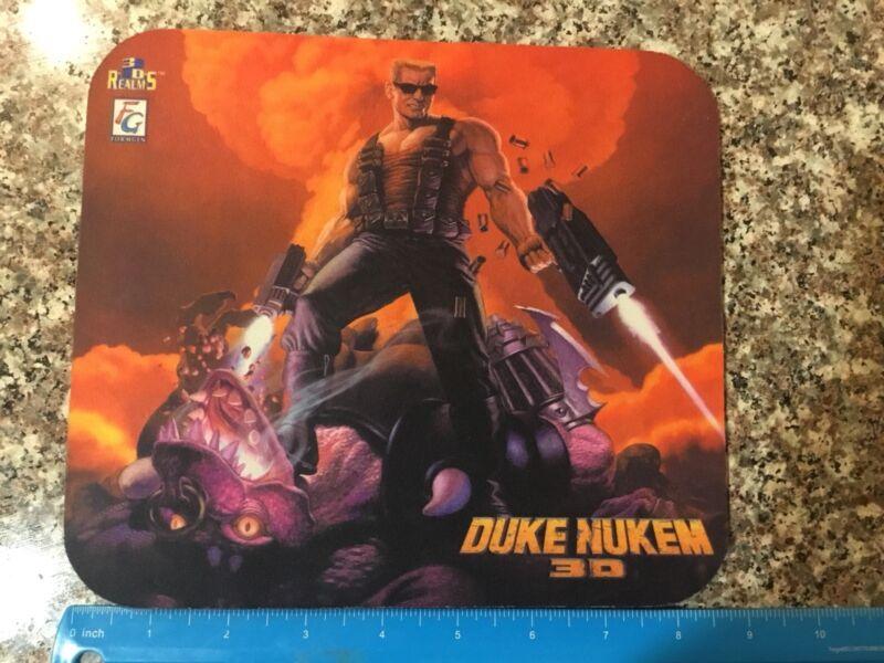 Vintage Old Stock Duke Nukem 3D Mousepad Mouse Pad PC Never Used