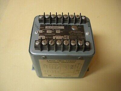 Scientific Columbus Xl3-1k5a4 Exceltronic Watt Transducer