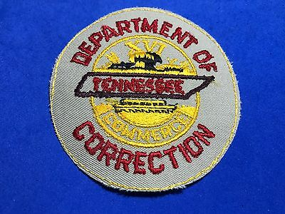 Department Of Correction Tennessee Patch Commerce Tn Round Iron Sew On