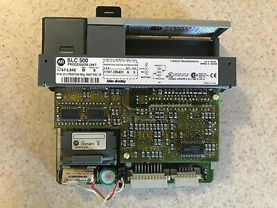 Allen Bradley Slc 500 Processor Unit 1747-l542 Series B Proc Rev 3