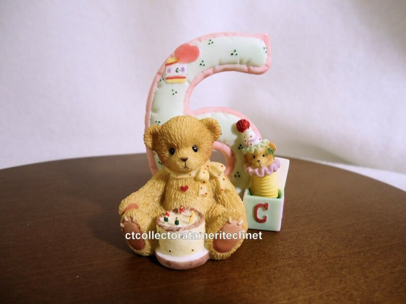 Cherished Teddies Teddies To Cherish Number Age 6 2004 NEW