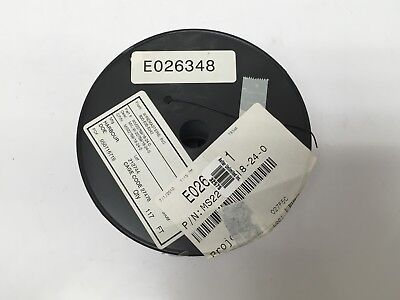 115 Feet Ms2275918-24-0 Mil-spec Etfe Tefzel 24-awg Black Stranded Wire