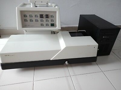 Ankersmid Cis100ankersmid Lfc101 Particle Size And Shape Analyzer
