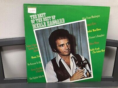 The Best Of The Best Of Merle Haggard Capitol ST-11082 Country 1972 Near (The Best Of The Best Of Merle Haggard)