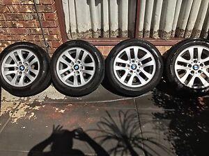 BMW run flat wheels with Pirelli tyres Dingley Village Kingston Area Preview