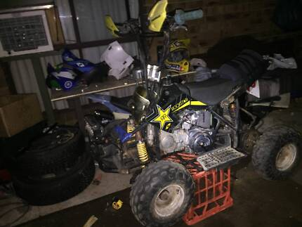 140 oil cooled lifan in a 50 sized quad Gawler Gawler Area Preview