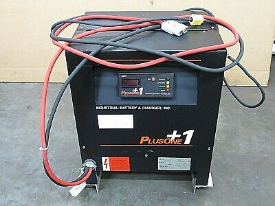 Plus-one Battery Charger 12-p1-380-1z 380 Ah 24vdc 120vac 1ph - Used
