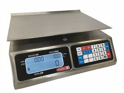 Tor-rey Lpc-40l 40 X .01 Lb Portable Price Computing Scale