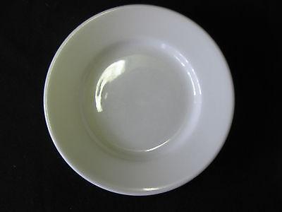 Lot Of 12 White Porcelain Plate 5 12 Restaurantcatering Dinnerware Saucer