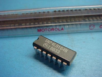 5 Motorola Sn74ls164n 8-bit Shift Register 14p Dip