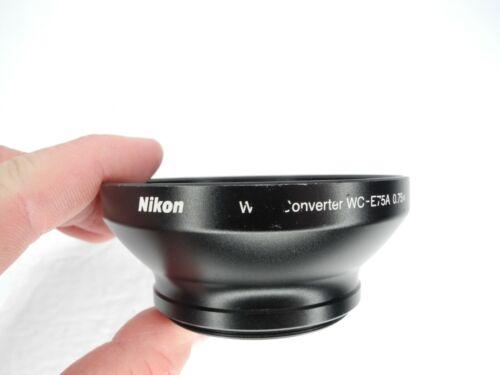 #1 Nikon Wide Angle Converter WC-E75A 0.75x For Coolpix P7000 / P7100
