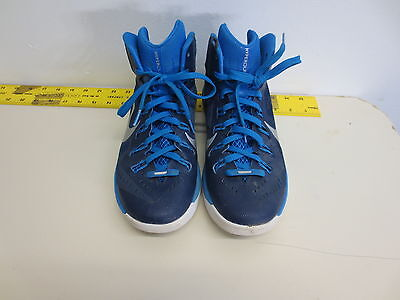 ac150911951f NIKE 653484-403 Hyperdunk Blue White Basketball Shoes Womens Size 9.5