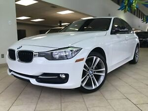 2014 BMW 3 Series 320i xDrive Sportline GPS Cuir Rouge Toit ouvr
