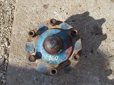 Ford 960 Tractor Original Front Wheel Hub To Spindle W Cap Stud Bolts Bolts
