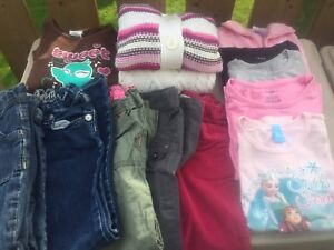 4-5T girls fall/winter clothing