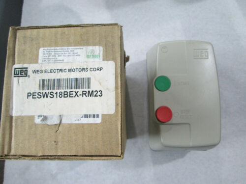 New WEG PESWS18BEX-RM23 Enclosed Motor Starter (11-17 Amp, 208/240 Volt Coil)