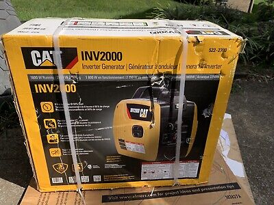 Cat Inv2000 1800w Gas Powered Portable Inverter Generator