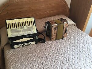 2 accordions for sale