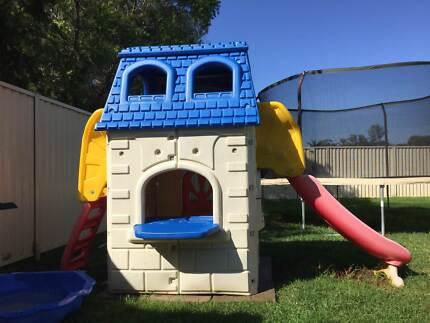 LITTLE TIKES KIDS 2 STOREY CUBBY HOUSE SLIDE CUBBYHOUSE CLIMBER Oakhurst Blacktown Area Preview
