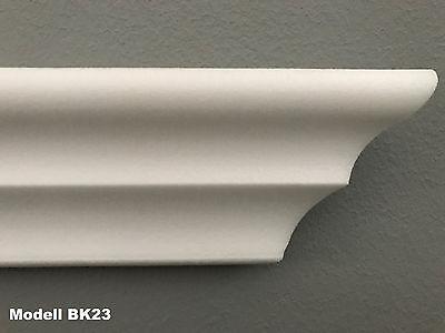 60 Meter Zierleisten Styroporleisten Stuckprofile Zierprofile Stuck 60x60mm Z 22