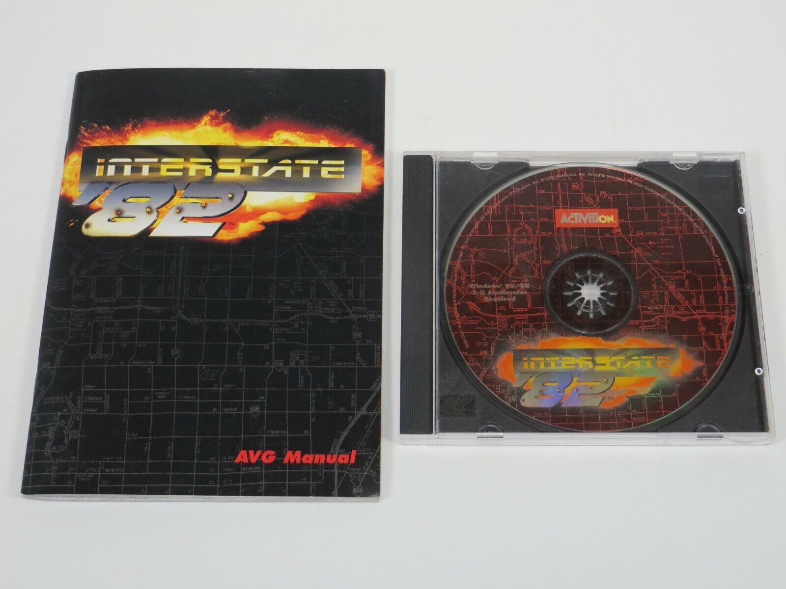 Computer Games - The Interstate '82 (PC, 1999) PC Vintage Computer Game Activision