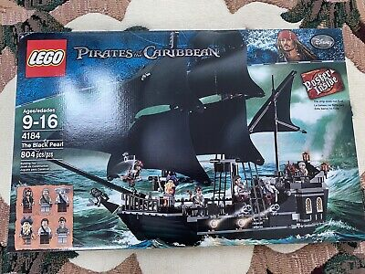 Lego Pirates of Caribbean Pirate Ship 4184:  Jack Sparrow Black Pearl NEW BOX