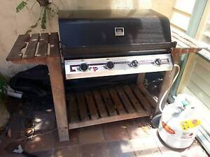 Gas BBQ with cover and gas bottle Seaforth Manly Area Preview