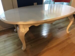 White coffee tables