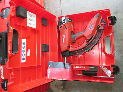 Hilti Tools Gx3 Gas Operated Actuated Nail Gun Fastening Tool W Case 924
