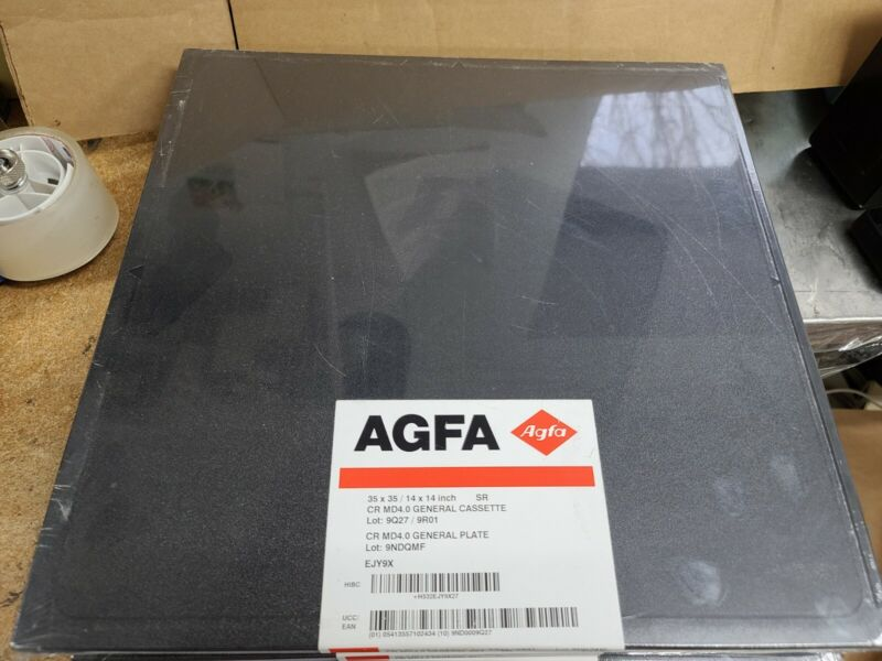 AGFA CR CASSETTE 35x35 SRCR MD4.0 General Cassette, CR MD4.0 General Plate EJY9X