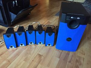 Monster 5.1 speaker system. Mint condition. UNUSED