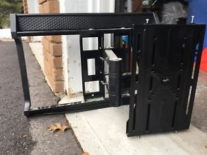 "46"" Sharp Aquos flat screen TV + wall mount"