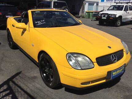 2000 Mercedes-Benz SLK230 Convertible