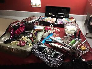 Makeup ,Straightener, Hair Accessories all for $20