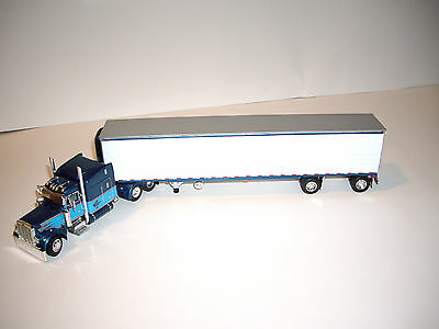 Dcp 1 64 Bob Christensen 379 Peterbilt With 63 Mid Roof Sleeper And Reefer