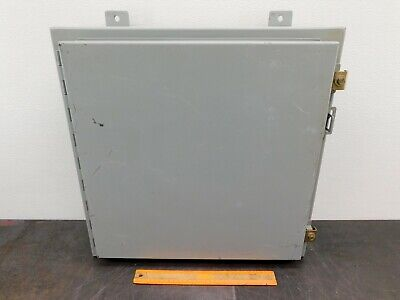 Hoffman Electrical Enclosure A202006lp 20x20x6 Electric Box A-202006lp