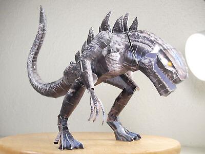 Godzilla 1998 Poseable Papercraft DIY