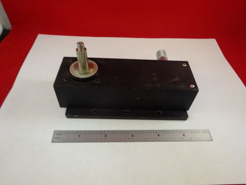 MICROSCOPE PART DEVICE WITH MICROMETER  sku#F8