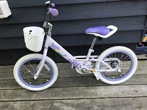 Girls 16inch trek bike