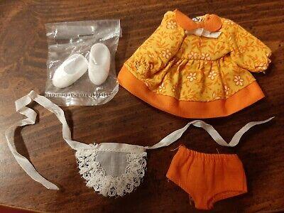 Vintage Barbie #3559 Tutti Cookin' Goodies Doll Clothes Outfit Dress Apron Shoes