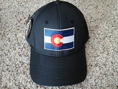 Black Colorado Flag Hat