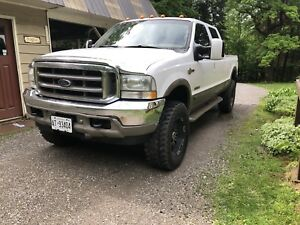2003 diesel Ford king ranch